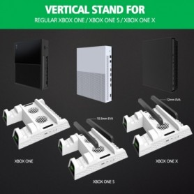 OIVO Dual Controller Charger For bo ONE Cooling Vertical Stand Games Storage Charging Docking Station for bo ONE/S/ Console