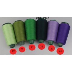203 High tenacity polyester sewing thick thread 03mm 3rolls/lot denim patchwork sewing yarns