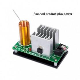 Mini Music Tesla Coil DIY Kit Mini Plasma Speaker Electronic Component Parts Diy Tesla Coil Speaker, Home