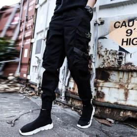 Streetwear Joggers Men Spring Autumn Fashion Sweatpants Mens pants Casual Slim Ankle-length Men Trousers Womens Pants, Home