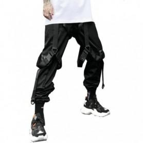 Black Leisure Hip-Hop Mens Pants Streetwear Cotton Jogging Pants Male 2020 Spring High Quality Sweatpants Mens Long Pants