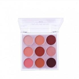 AVASS Fashion Eyeshadow Palette 9 Colors Eyeshadow Nude Palette Glitter Eye Shadow Nude Makeup Makeup Set, Home