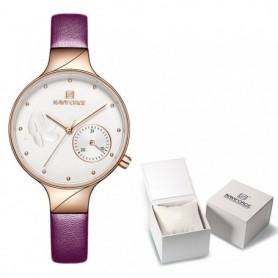 Women Watches Luxury Brand NAVIFORCE Quartz Ladies Watch Dress Wrist Watch Date Clock With Box Set For Sale Relogio Feminino, Ho