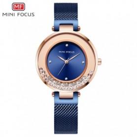 Rose Gold Watches Women Fashion Watch 2020 Luxury Crystal Ladies Watch Minimalism Ultra Thin Mesh Strap Waterproof Casual Dress,