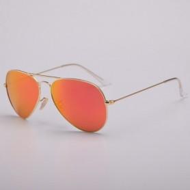 Real G15 Glass lens Sunglasses luxury design brand women men sun glasses driving feminine 3025 pilot shades gafas oculos de sol,