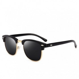UV400 HD Polarized men women Sunglasses Classic fashion retro Brand Sun glasses Coating Drive Shades gafas De Sol Masculino, Hom