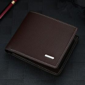 Men's Wallet Fashion 2020 Mens Wallet with Coin Bag Zipper Small Money Purses New Design Dollar Slim Purse Money Clip Wallet 508