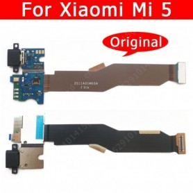 Original USB Charge Board For Xiaomi Mi 5 Mi5 Charging Port PCB Flex Connector Mobile Phone Accessories Replacement Spare Parts,