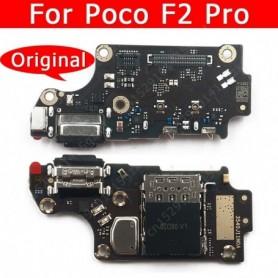 Original USB Charge Board For Xiaomi Mi Poco F2 Pro Redmi K30 Charging Port Connector Phone Accessories Replacement Spare Parts,