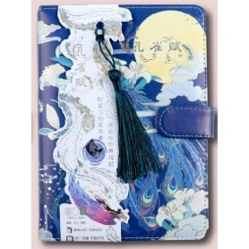 The Magic Bird Colorful Fantasy Diary Book 196P Lined+Blank Paper Creative Floral Notebook 13*18cm Free Shipping, Home