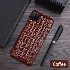 Leather Phone Case For Huawei Mate 40 30 20 20X 10 P20 P30 Lite P40 Pro Plus P Smatr Nova 5T Y6 Y9 2019 Crocodile Back Cover, Ho