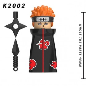 6PCS/SET Japan Anime Character Building Block Action Figures Accessories Head Toys For Children Christmas Gift KDL801, Home