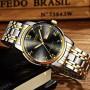 Watch Men Fashion Sports Stainless Steel Business Mens Watches Top Brand Luxury Waterproof Quartz Watch Man Relogio Masculino