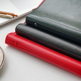 ERAL new product Six hole loose leaf A4 notes. Office use Cornell's Diary. Student thinking map. PU leather cover, large format