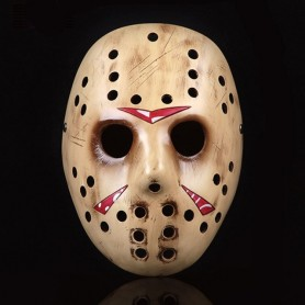 Movie Freddy Vs. Jason Voorhees Costumes Replica Hockey Jason Mask Halloween Christmas Theme Masquerade Cosplay Resin Masks