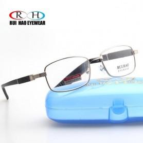 Brand Reading Glasses Clear Glass Lenses Presbyopic Eyeglasses Read Spectacles +1.00~+4.00 Rectangle Glasses Design 1308, Home