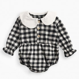 0-3Yrs New 2020 Spring Autumn Newborn Baby Girls Floral Long Sleeve Clothes Rompers Baby Toddler Girls Triangle Jumpsuits