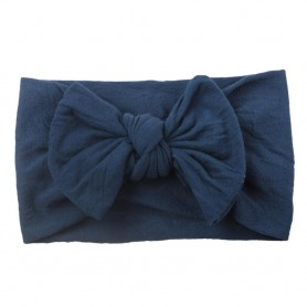 20 Colors Baby Nylon Knotted Headbands Girls Big 4.5 inches Hair Bows Head Wraps Infants Toddlers Hairbands, Home