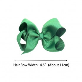 40 Colors 4.5 Inch Kid Girls Large Ribbon Hair Bows Clips Accessories for Toddlers Kids Girls hair Accessories, Home