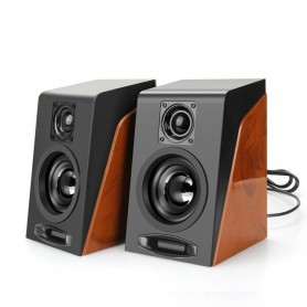 New Creative MiNi Subwoofer Restoring Ancient Ways Desktop Small Computer PC Speakers With USB 2.0 & 3.5mm Interface, Home