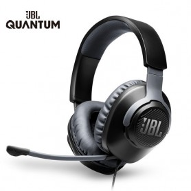 JBL Gaming Headset QUANTUM100 7.1 with Mic Microphone Foldable Headphones for PS4 for Nintendo Switch for Xbox One PC TV Phone,