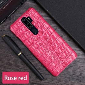 Leather Phone Case For OPPO Find X2 R15 R17 Reno Z 2 2Z 2F 3 4 Pro Ace 2 A5 A9 2020 A11X K3 K5 Cowhide Crocodile Tail Cover, Hom