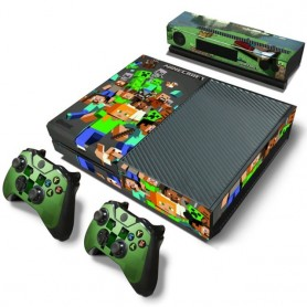 Good design for X box one console sticker and 2 controllers sticker for X BOX ONE vinyl sticker for xbox one skin sticker, Home