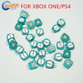 100Pcs Replacement Analog 3D Joystick Micro Mini Switch Axis Resistors For Playstation 4 PS4 Controller Gasket For XBOX ONE, Hom