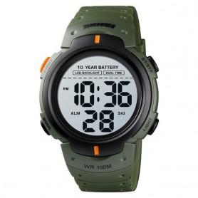 SKMEI Outdoor Sport Watch 100M Waterproof Digital Watch Men Fashion Led Light Stopwatch Wrist Watch Men's Clock Reloj Hombre, Ho
