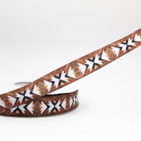 2patterns Geomety printed grosgrain ribbon 9-75mm DIY handmade materials hair accessories wedding gift wrap tape ribbons, Home