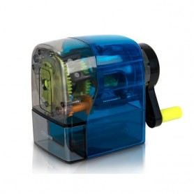 Deli Stationery 71152 Rotary Pencil Sharpener Home Office School Supplies for 6.5-8mm Pencils Diameter