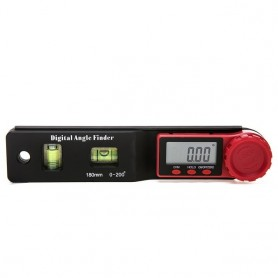 2 in 1 Digital Meter Angle Inclinometer Spirit level Angle Ruler Electron Goniometer Protractor Angle finder Measuring Tool, Hom