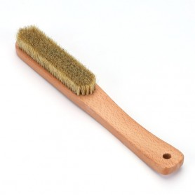 Large Wood Handle Rock Climbing Brush with Boar Hair for Bouldering on the Wall, Home