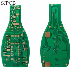 SJPCB Beer Bottle Special Shape Printed Circuit Board Maker Immersion Gold Customized Outline PCB Toy or Decoration Electronics,
