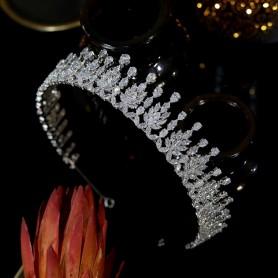 New Design Crystal Headdress Bridal Headdress Crown Bridal Headband Luxury Wedding Korean Hair Accessories Long Tiaras, Home