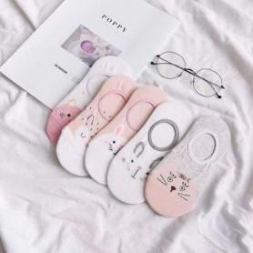 5 pairs Women's Short Socks Cute Lovely Not stinky Sweet Cotton Women Socks Casual Women Ankle Socks Funny Socks Female, Home