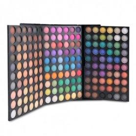 180 Color Professional Eyeshadow Makeup 3 Layer Eyeshadow Palette Cosmetic Make Up Set Full Size Luminous Kit Eye Shadow Palette
