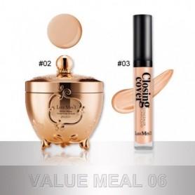 Loumesi Face Concealer Cream set perfect cover face concealer cream Oil Control FaceEyes Contouring Liquid Foundation Conceale,