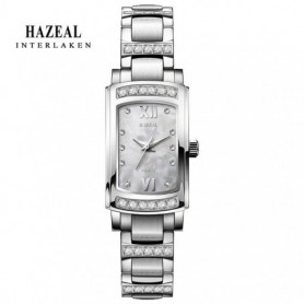 HAZEAL Japan Quartz Women Watches Bracelet Watch Ladies Luxury montre femme Stainless Steel Women's Wristwatch Original Design,