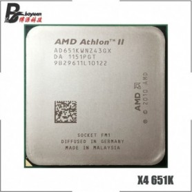 AMD Athlon II X4 651 X4 651X X4 651K 3.0 GHz Quad-Core CPU Processor AD651KWNZ43GX / AD651XWNZ43GX Socket FM1, Home