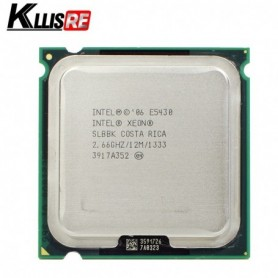 used INTEL XEON E5430 2.66GHz 12M 1333Mhz CPU Processor Works on LGA775 motherboard, Home