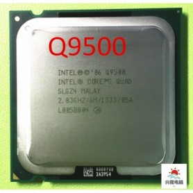 Intel Core 2 Quad Q9500 CPU Processor (2.83Ghz/ 6M /1333GHz) Socket 775 Desktop CPU (working 100% Free Shipping), Home