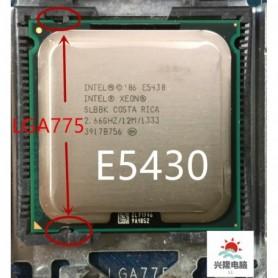 lntel Xeon e5430 E5430 2.66GHz/12M/1333Mhz/CPU equal to LGA775 Core 2 Quad Q9300 CPU,no need adapter,works on LGA775 mainboard,