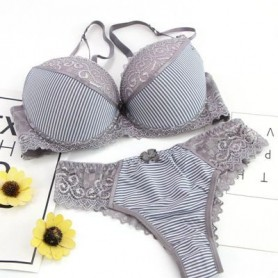 VS secret thong bra set lingerie Push Up French lace sexy women underwear sets Bra and Panty ABCD cup Free Shipping sutia T2480,