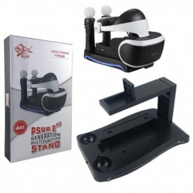 4-in-1 Stand Charge Showcase and Display for Playstation 4 PS4VR Showcase and Move Controller Charging Station