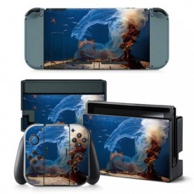 Skin Sticker Vinyl for Nintendo Switch stickers skins for Nintend Switch NS Console and Joy-Con Controller